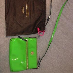 Kate Spade green cross body purse